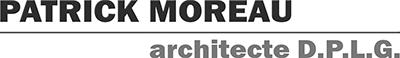 Agence patrick moreau architecte vendôme Logo